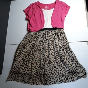 Faded Glory Dress Girl's Size L/G (10-12)